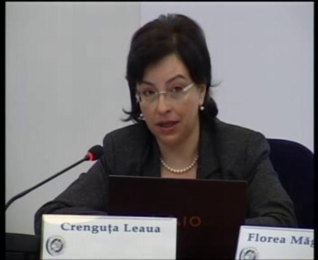 Florea Măgureanu, Brândușa Ștefănescu, Crenguța Leaua, 6 octombrie 2011