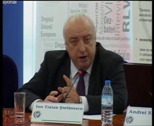 Ion Traian Ștefănescu: Întrebări și răspunsuri de dreptul muncii   28 noiembrie 2011 (II)