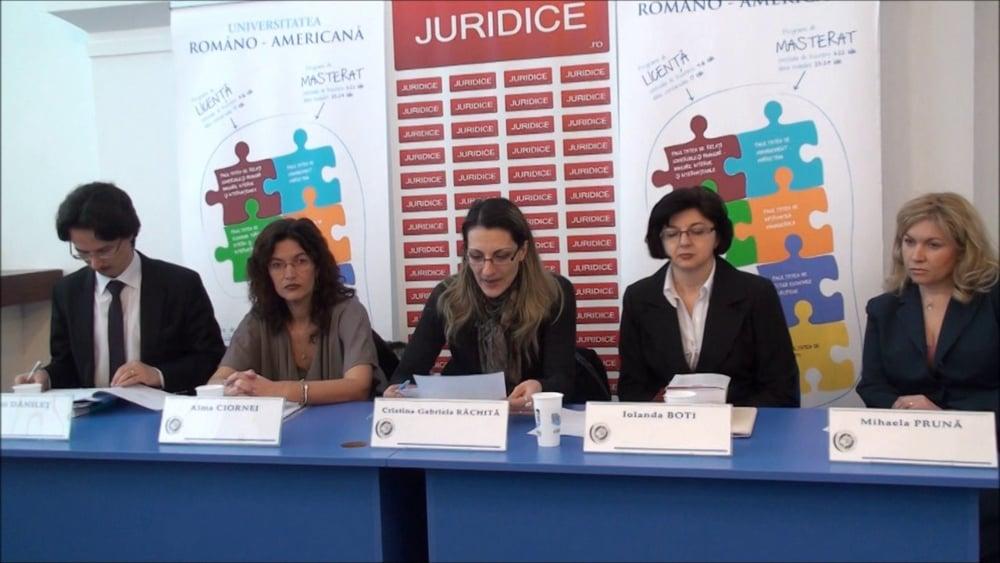 Cristina Rachita | Partea introductiva | NCC – Exercitarea autoritații parintești- probleme românesti | 2 martie 2012