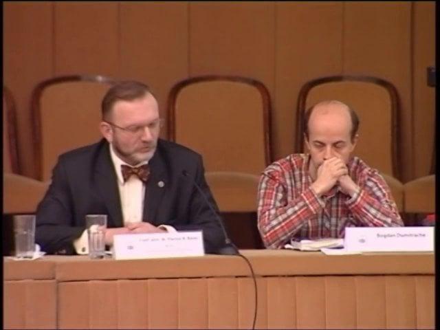 Flavius Baias – Cuvant inchidere | Reglementări fundamentale în NCPC | 18.02.2012
