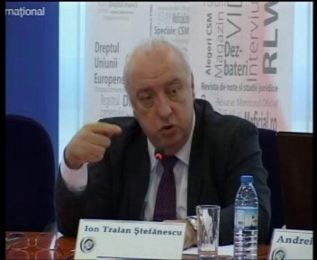 Ion Traian Ștefănescu: Întrebări și răspunsuri de dreptul muncii | 28 noiembrie 2011 (I)