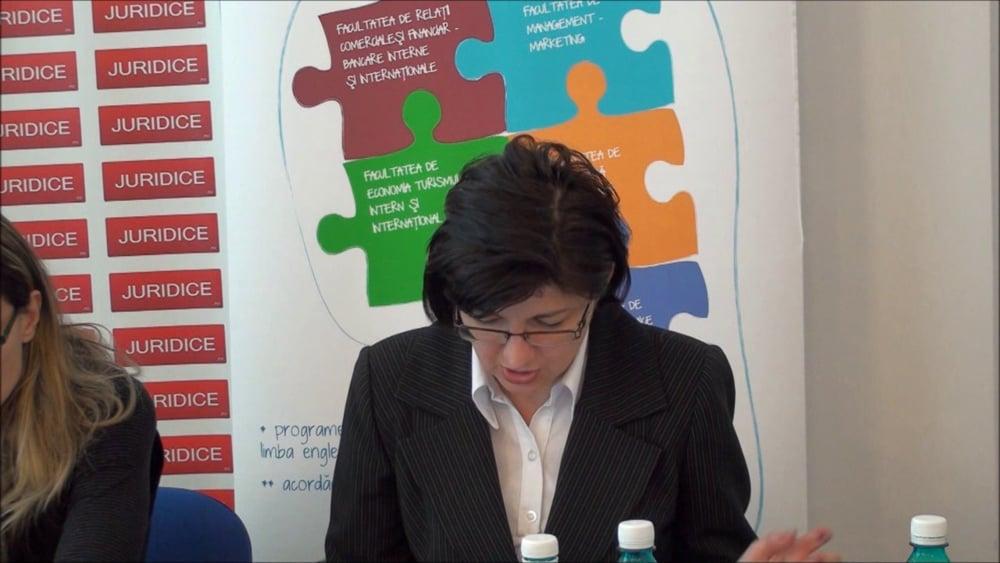 Cristina Rachita – Maria Cristea  | NCC – Exercitarea autoritații parintești- probleme românesti | 2 martie 2012