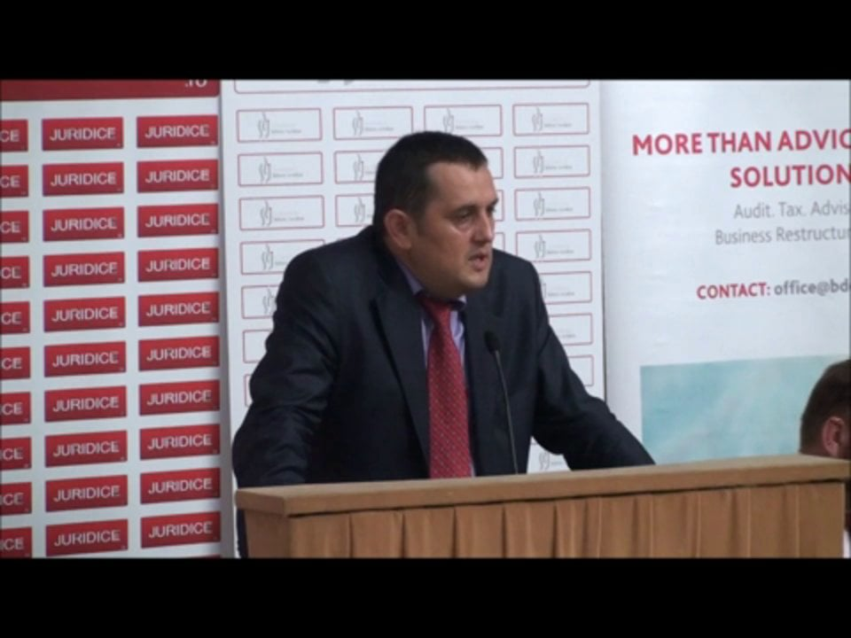 Gheorghe Piperea   Conferința de Dreptul Afacerilor. Lecțiile crizei: adaptabilitatea și inovația   11 mai 2012