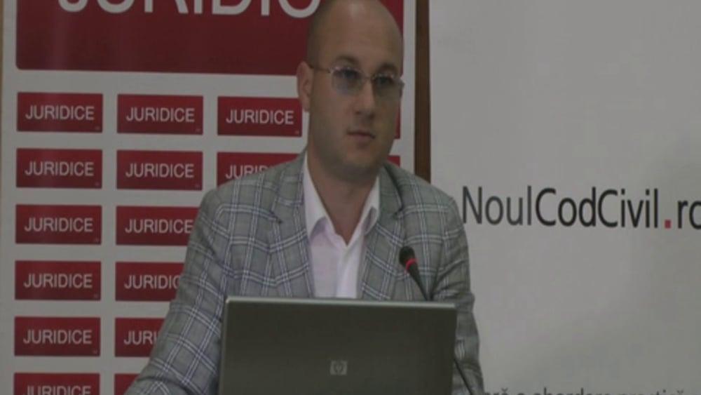 Cosmin Vasile | Probleme dificile de drept civil | 28 -29 noiembrie 2012