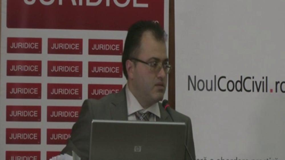 Bazil Oglinda | Probleme dificile de drept civil | 28 -29 noiembrie 2012