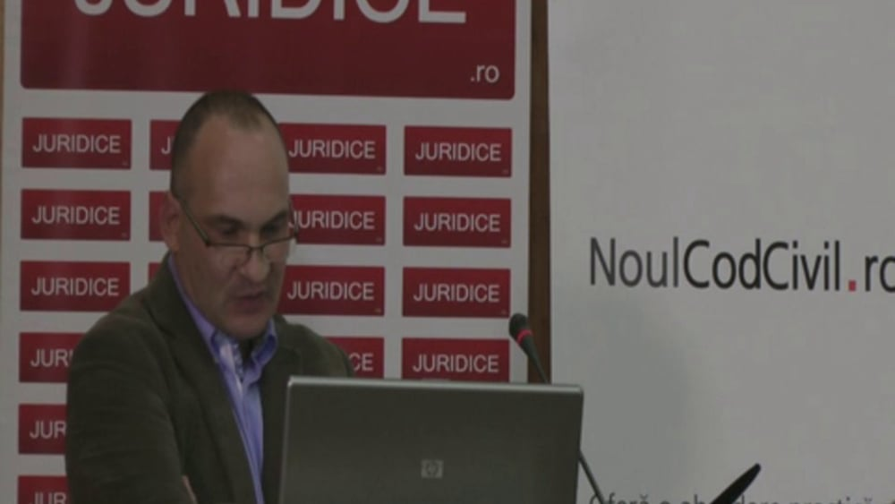 Cristian Bogaru | Probleme dificile de drept civil | 28 -29 noiembrie 2012