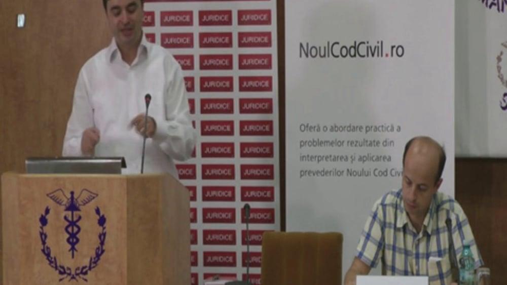 Claudiu Seucan | Probleme dificile de drept civil | 28 -29 noiembrie 2012