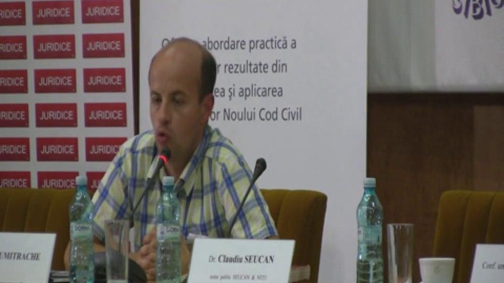 Discutii intrebari | Probleme dificile de drept civil | 28 -29 noiembrie 2012