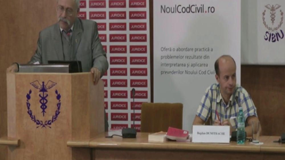 Iosif Friedmann   Probleme dificile de drept civil   28 -29 noiembrie 2012