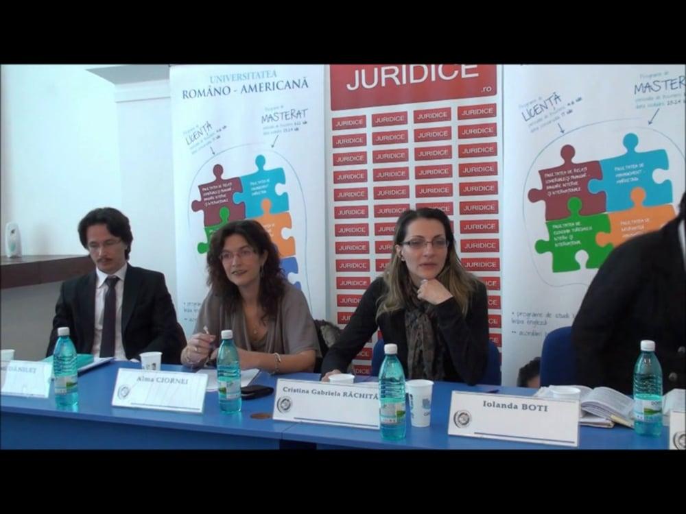 Cristina Rachita   Dezbateri    NCC – Exercitarea autoritații parintești- probleme românesti   2 martie 2012