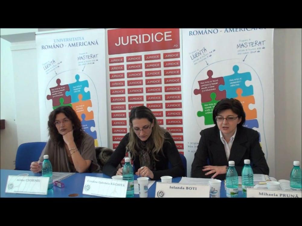 Cristina Rachita – Iolanda Boti  | NCC – Exercitarea autoritații parintești- probleme românesti | 2 martie 2012