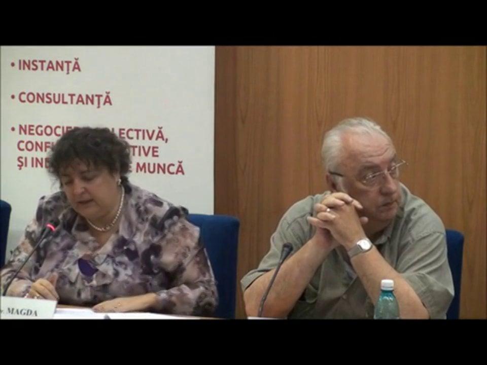 Magda Volonciu | Probleme dificile de dreptul muncii | 04 mai 2012
