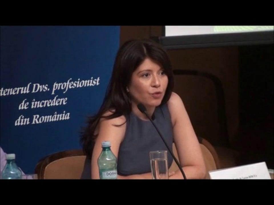 Gianina Oancea   Conferința de Dreptul Afacerilor. Lecțiile crizei: adaptabilitatea și inovația   11 mai 2012