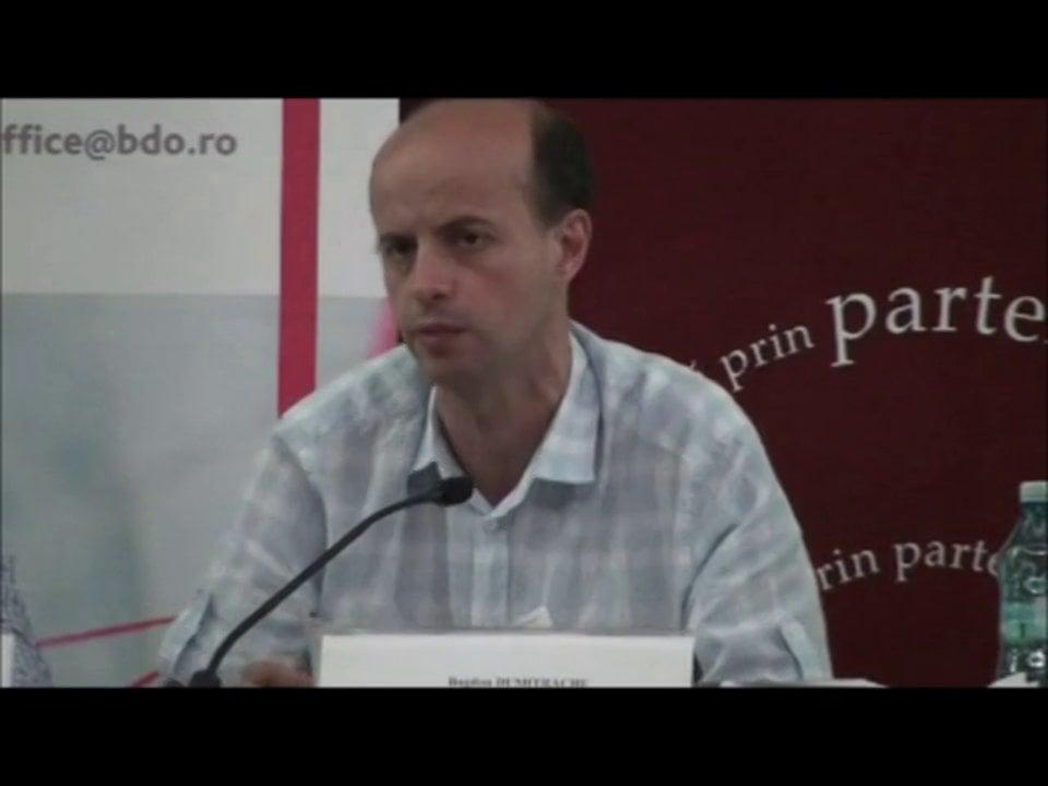Bogdan Dumitrache | Conferința de Dreptul Afacerilor. Lecțiile crizei: adaptabilitatea și inovația | 11 mai 2012