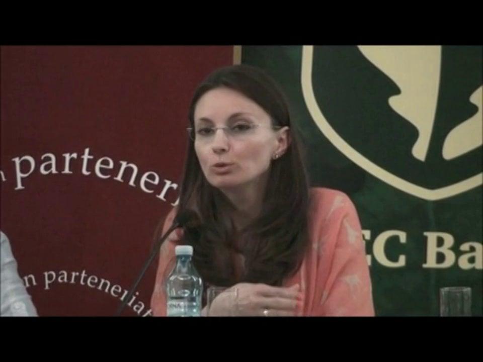 Ana Maria Puiu | Conferința de Dreptul Afacerilor. Lecțiile crizei: adaptabilitatea și inovația | 11 mai 2012