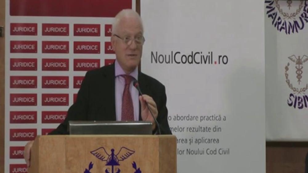 Valeriu Stoica | Probleme dificile de drept civil | 28 -29 noiembrie 2012