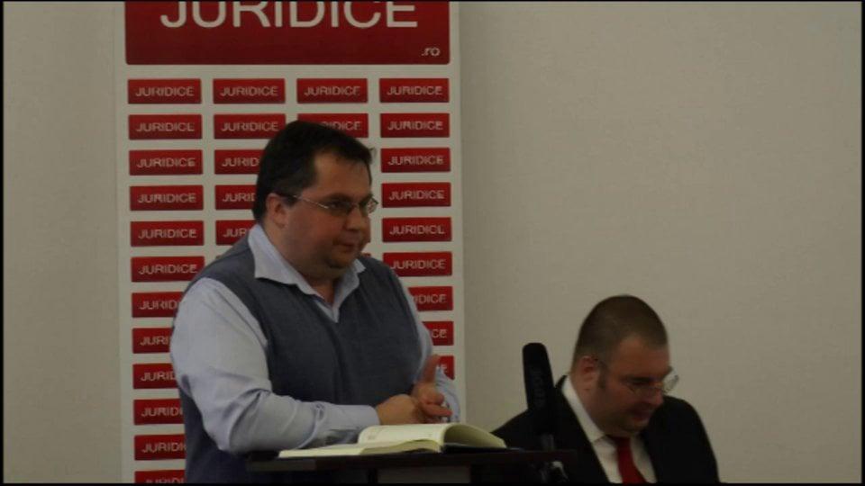 Probleme de drept civil și de procedură civilă în reglementarea Noilor Coduri | Băile Olănești | 23 februarie 2013 | PANEL 4