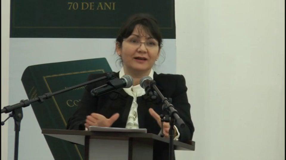 Probleme de drept civil și de procedură civilă în reglementarea Noilor Coduri | Băile Olănești | 23 februarie 2013 | PANEL 1
