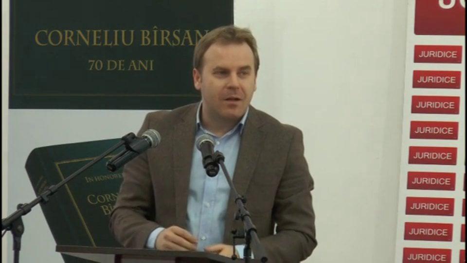 Probleme de drept civil și de procedură civilă în reglementarea Noilor Coduri | Băile Olănești | 23 februarie 2013 | PANEL 33