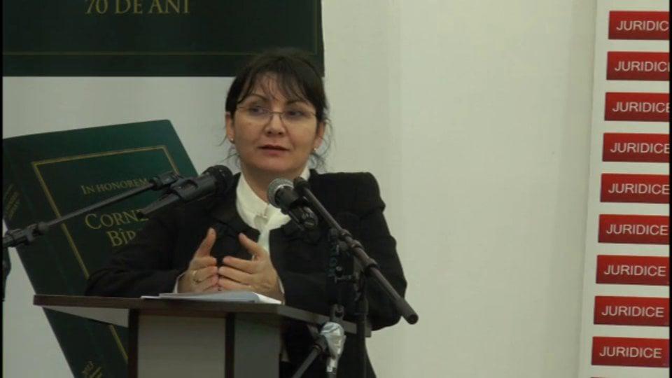 Probleme de drept civil și de procedură civilă în reglementarea Noilor Coduri | Băile Olănești | 23 februarie 2013 | PANEL 7