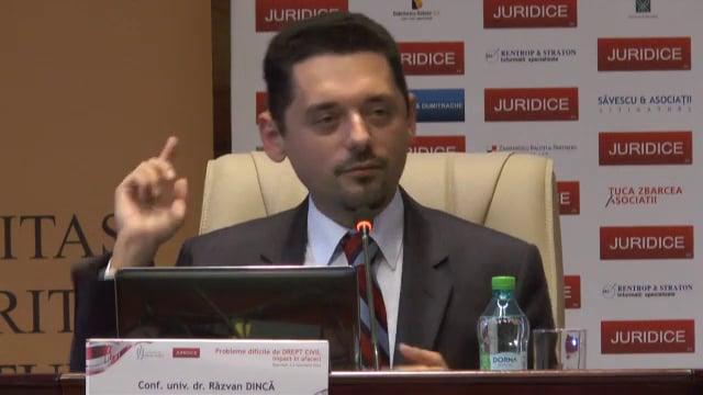 Razvan Dincă | Probleme dificile de drept civil (ed. 3). Impact în afaceri