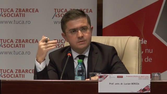 Lucian Bercea   Probleme dificile de drept civil (ed. 3). Impact în afaceri