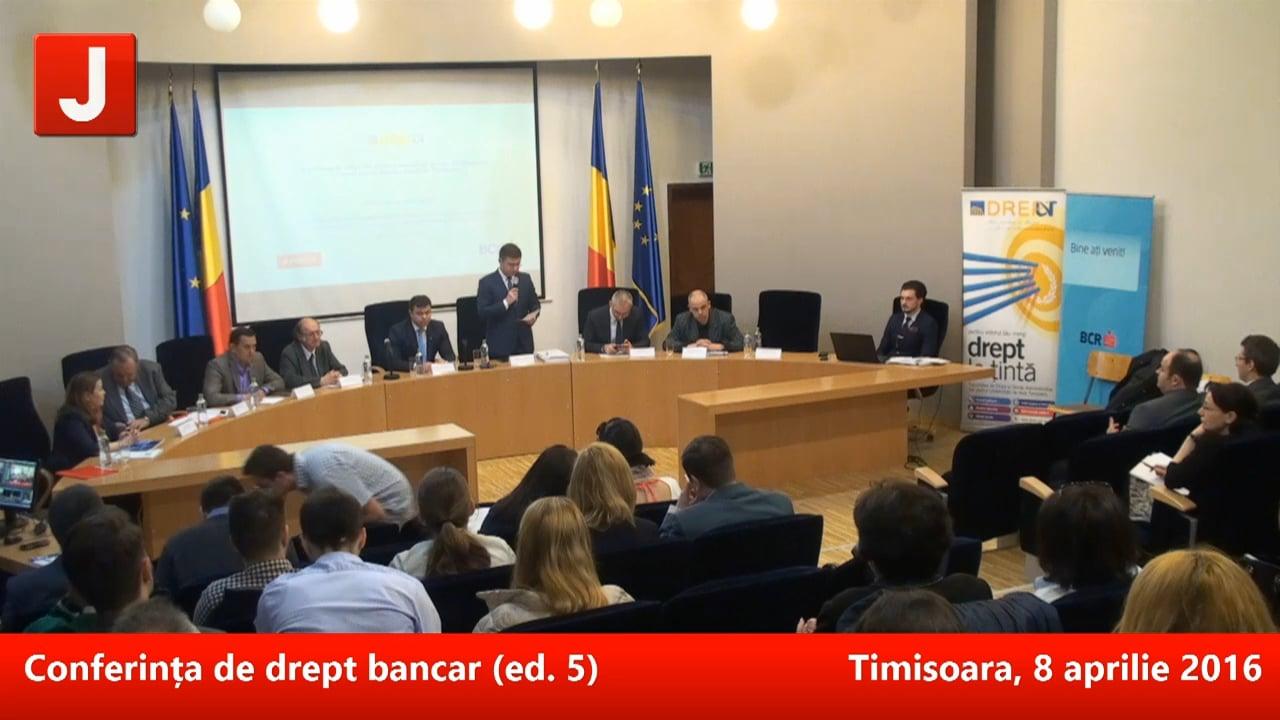 Conferința de drept bancar (ed. 5) | PANEL 1