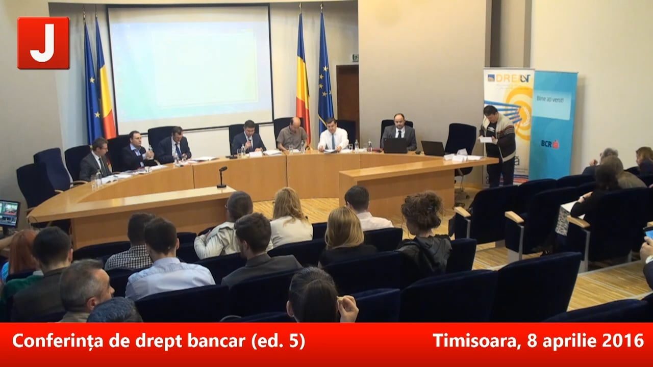 Conferința de drept bancar (ed. 5)   PANEL 2