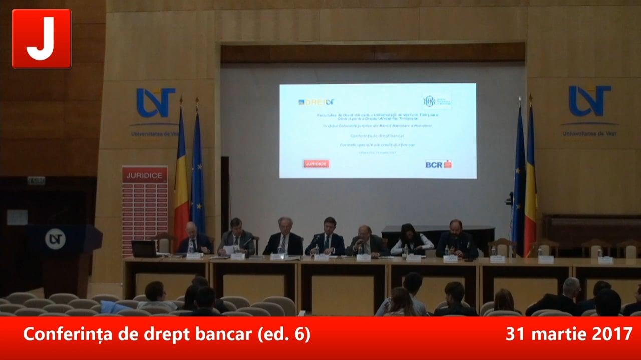 Conferința de drept bancar (ed. 6) | PANEL 3