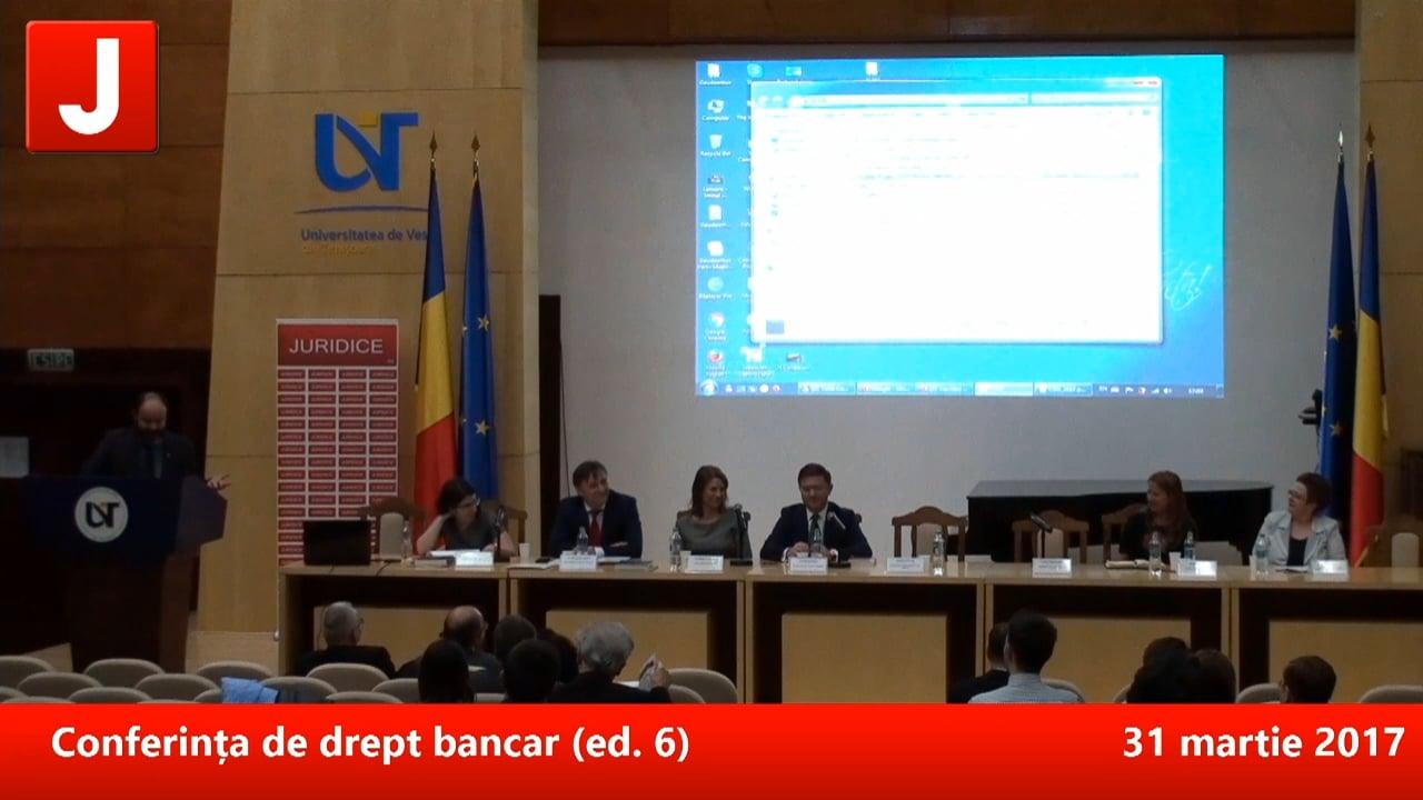 Conferința de drept bancar (ed. 6)   PANEL 4