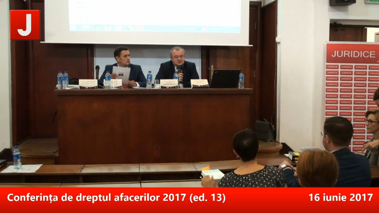 Conferința de dreptul afacerilor 2017 (ed. 13)   PANEL 2