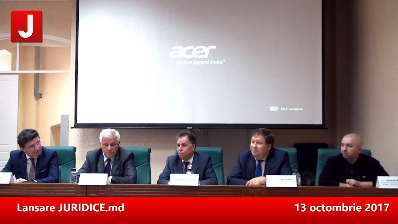Prima conferință JURIDICE MOLDOVA. Drept civil, drept penal, drept fiscal. Chișinău, 12 mai 2017 | PANEL 1