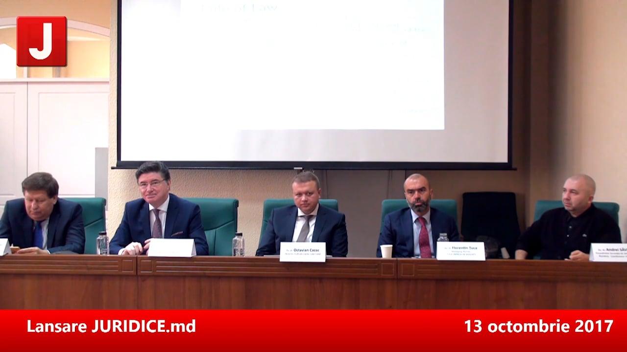 Prima conferință JURIDICE MOLDOVA. Drept civil, drept penal, drept fiscal. Chișinău, 12 mai 2017   PANEL 2