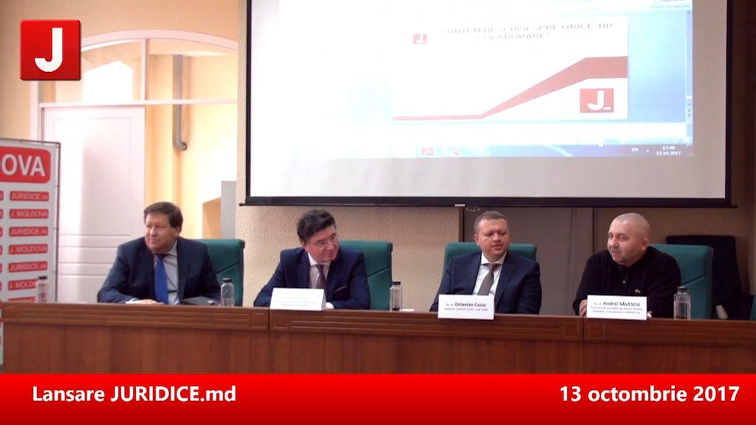 Prima conferință JURIDICE MOLDOVA. Drept civil, drept penal, drept fiscal. Chișinău, 12 mai 2017 | PANEL 3