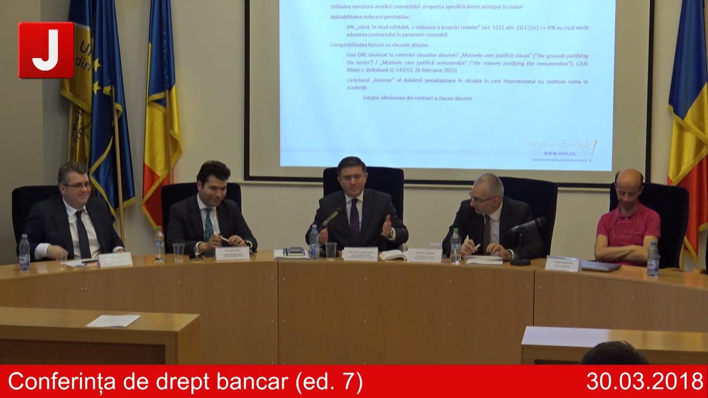 Conferința de drept bancar (ed. 7)   PANEL 4
