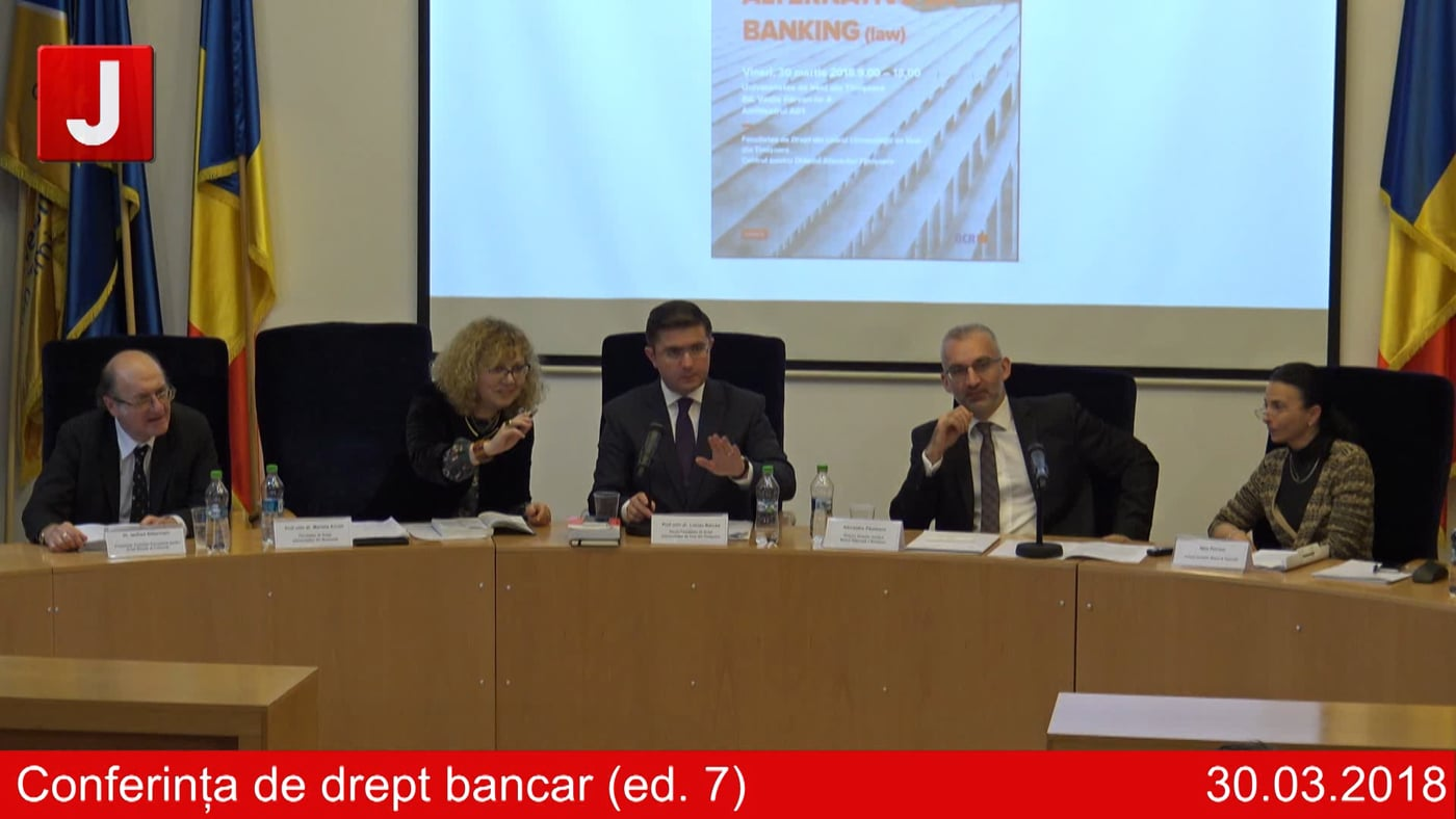 Conferința de drept bancar (ed. 7)   PANEL 2