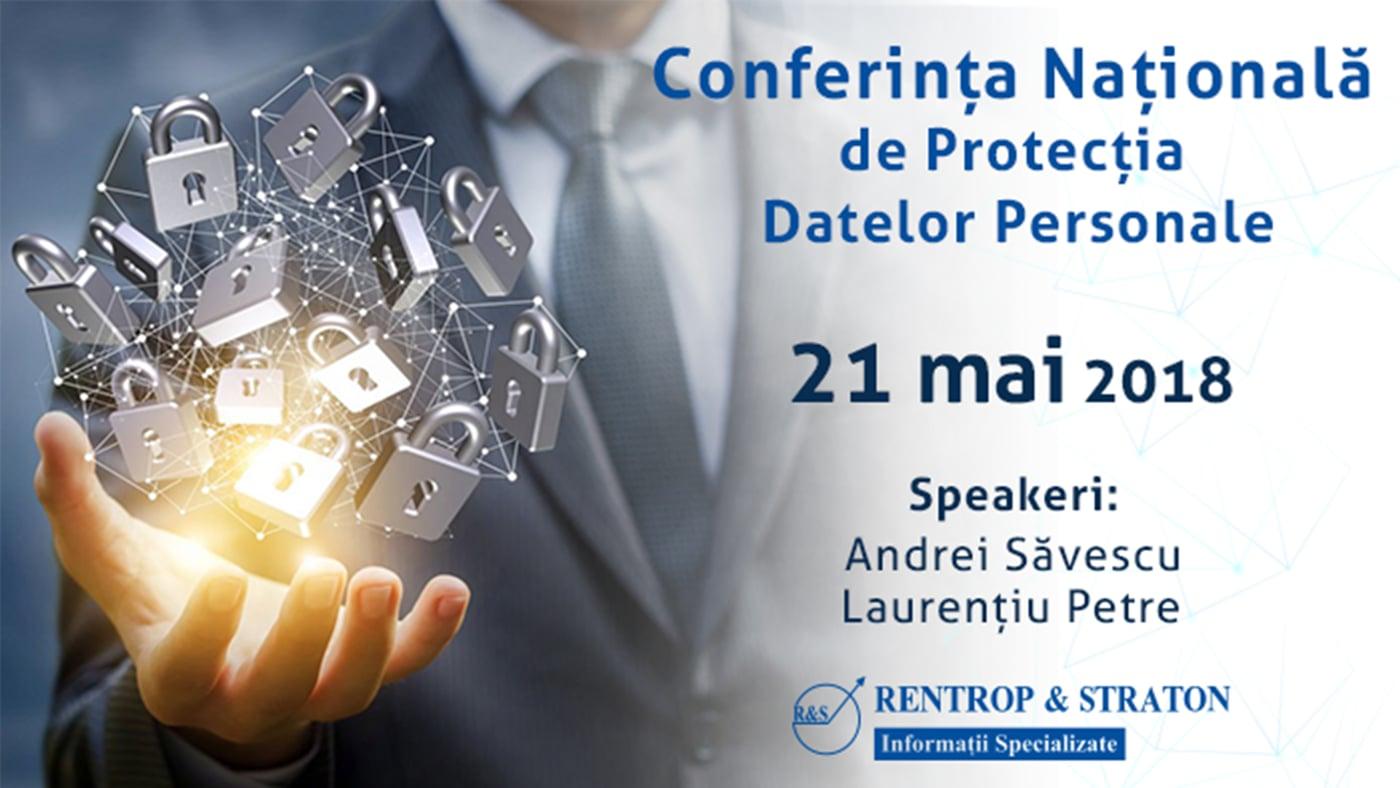 Conferinta GDPR  Rentrop & Straton 21-05-2018 Panel 1