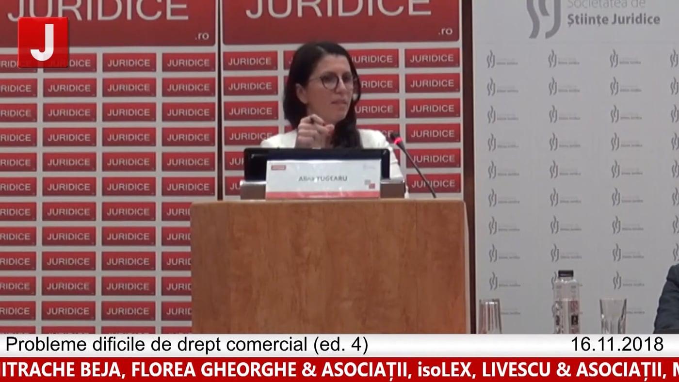 Alina Tugearu | Probleme dificile de drept comercial (ed. 4)