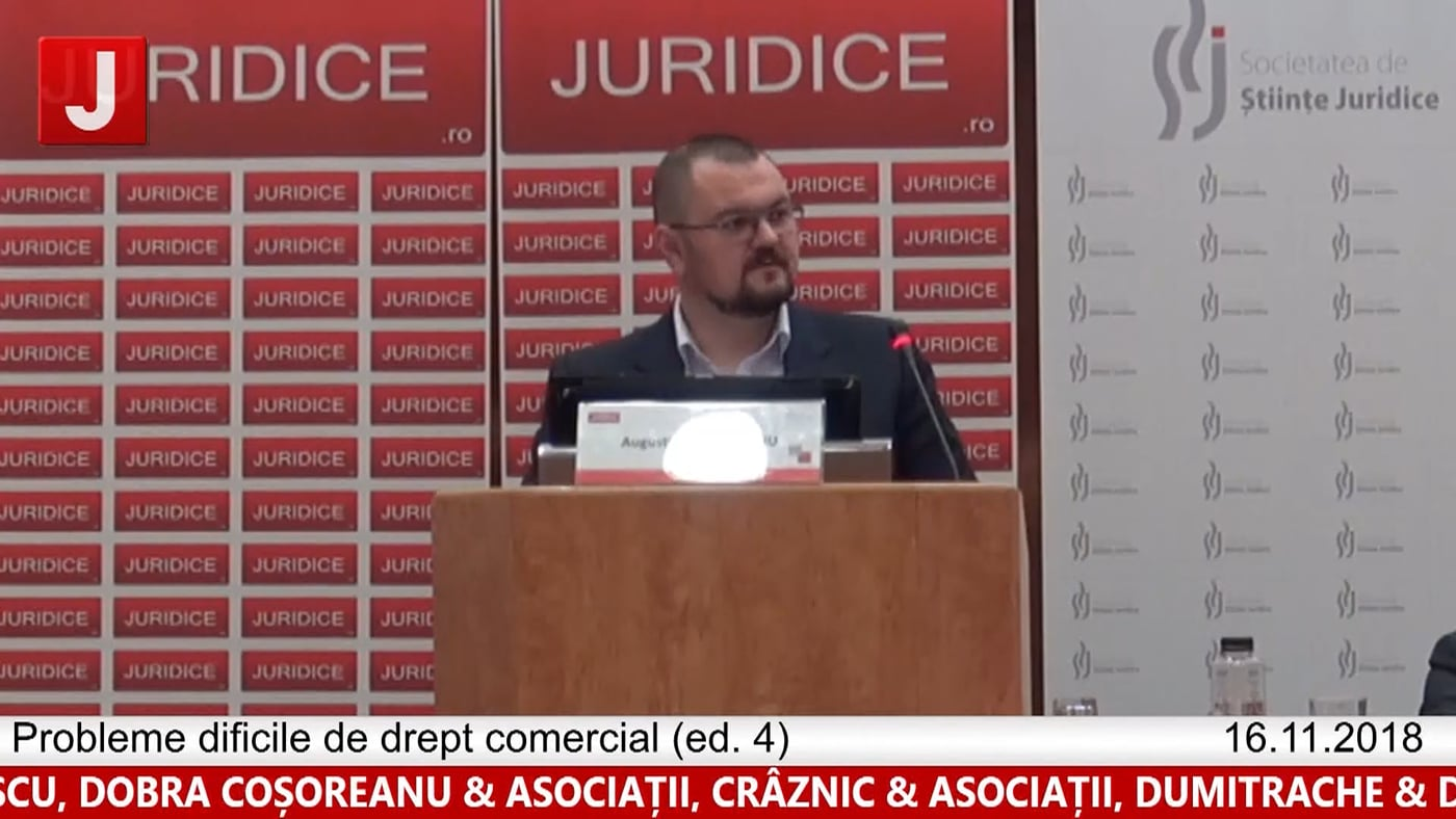 Augustin Zăbrăuțanu   Probleme dificile de drept comercial (ed. 4)