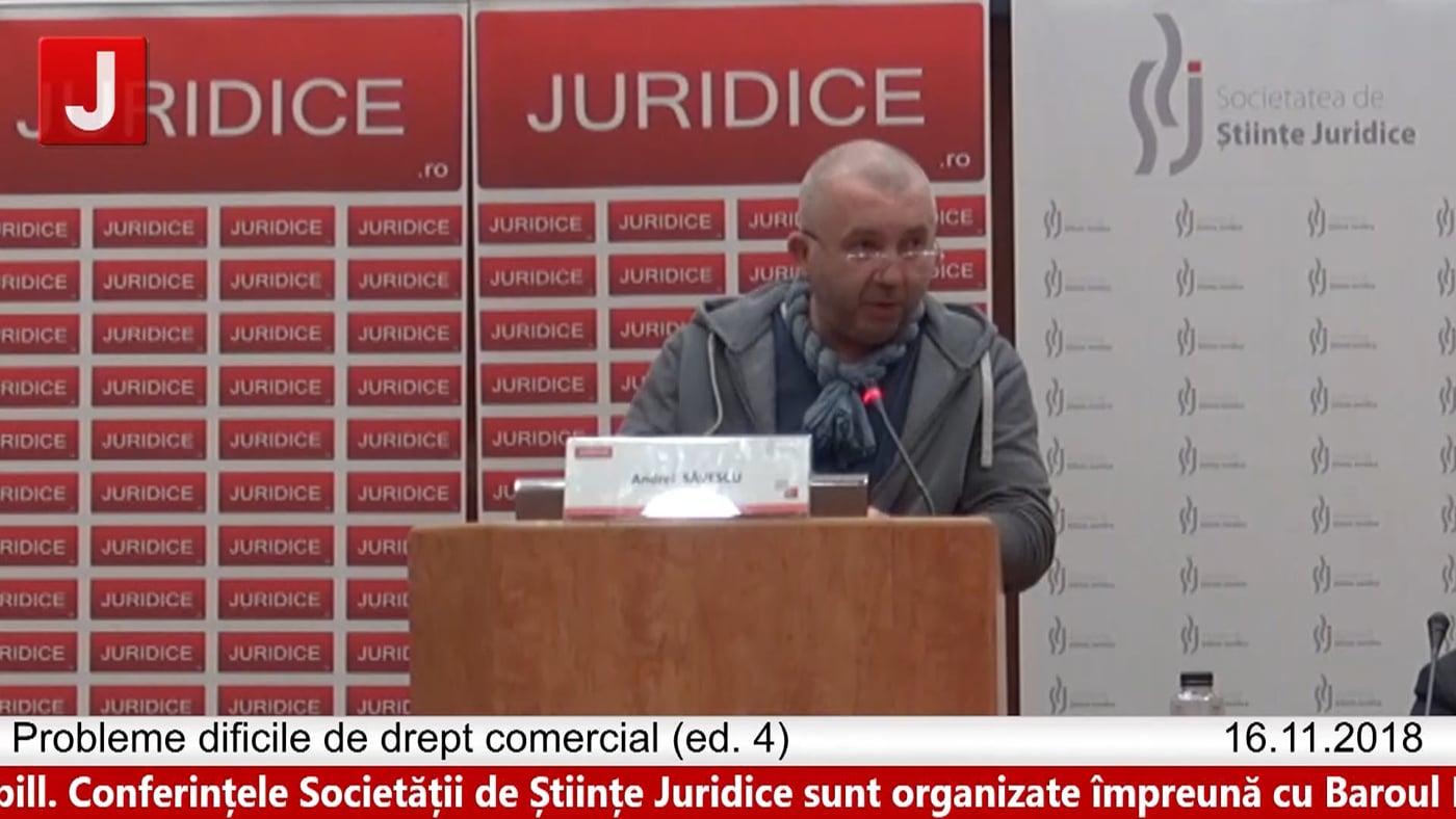 Andrei Săvescu   Probleme dificile de drept comercial (ed. 4)