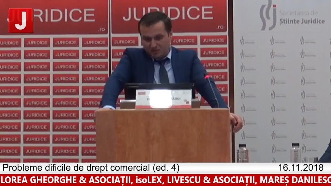 Valentin Rădoi | Probleme dificile de drept comercial (ed. 4)