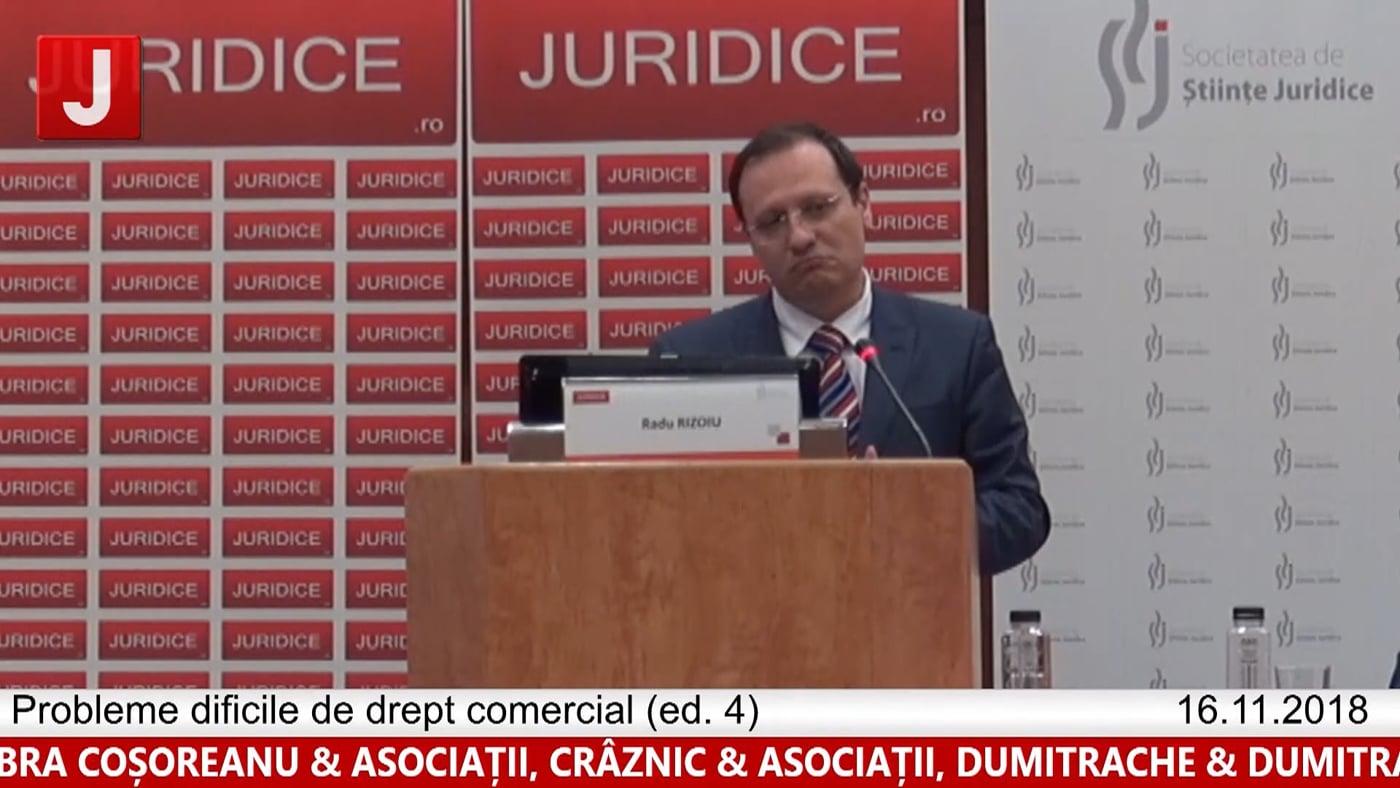 Radu Rizoiu | Probleme dificile de drept comercial (ed. 4)