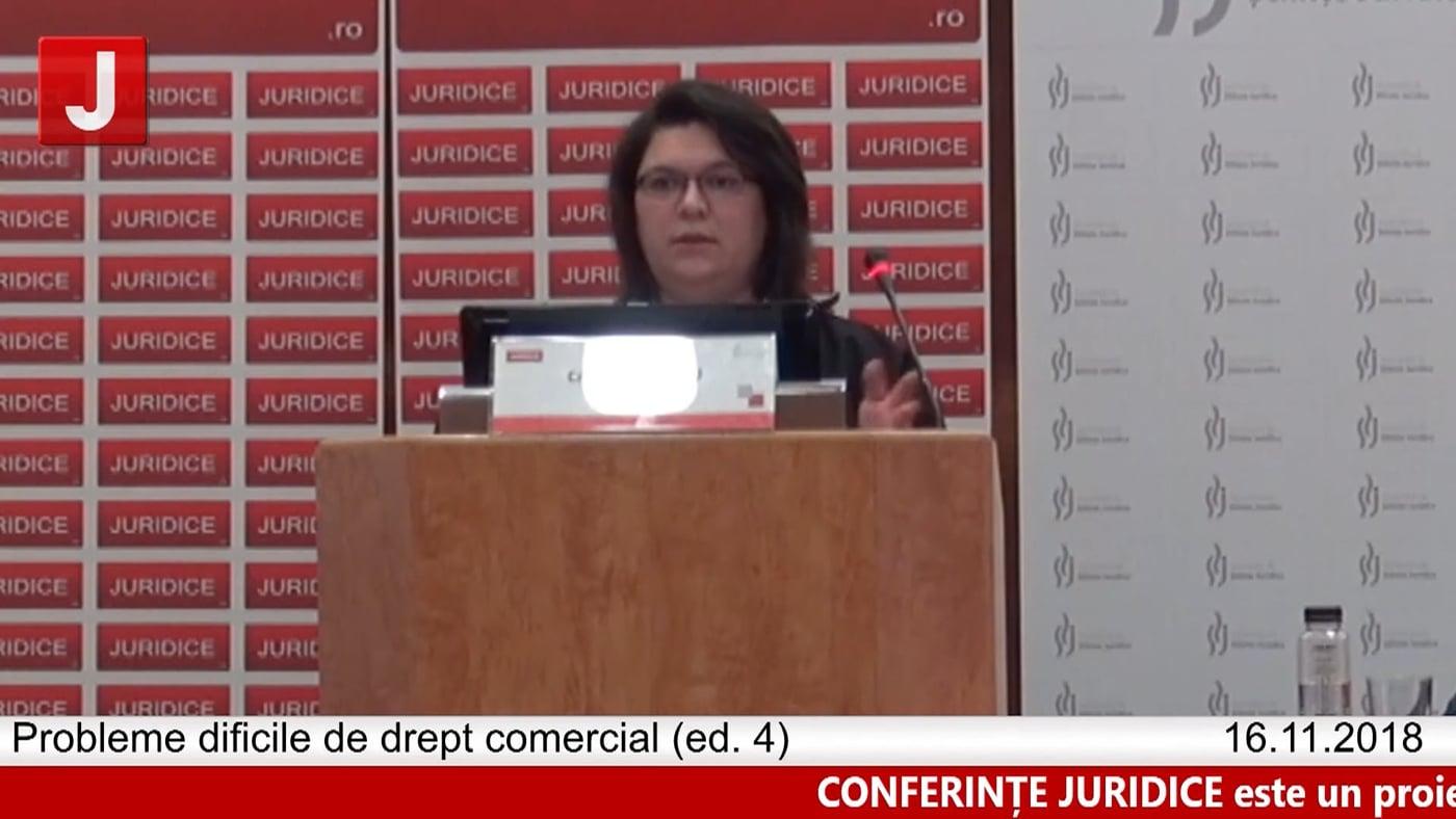 Cristina Popescu | Probleme dificile de drept comercial (ed. 4)