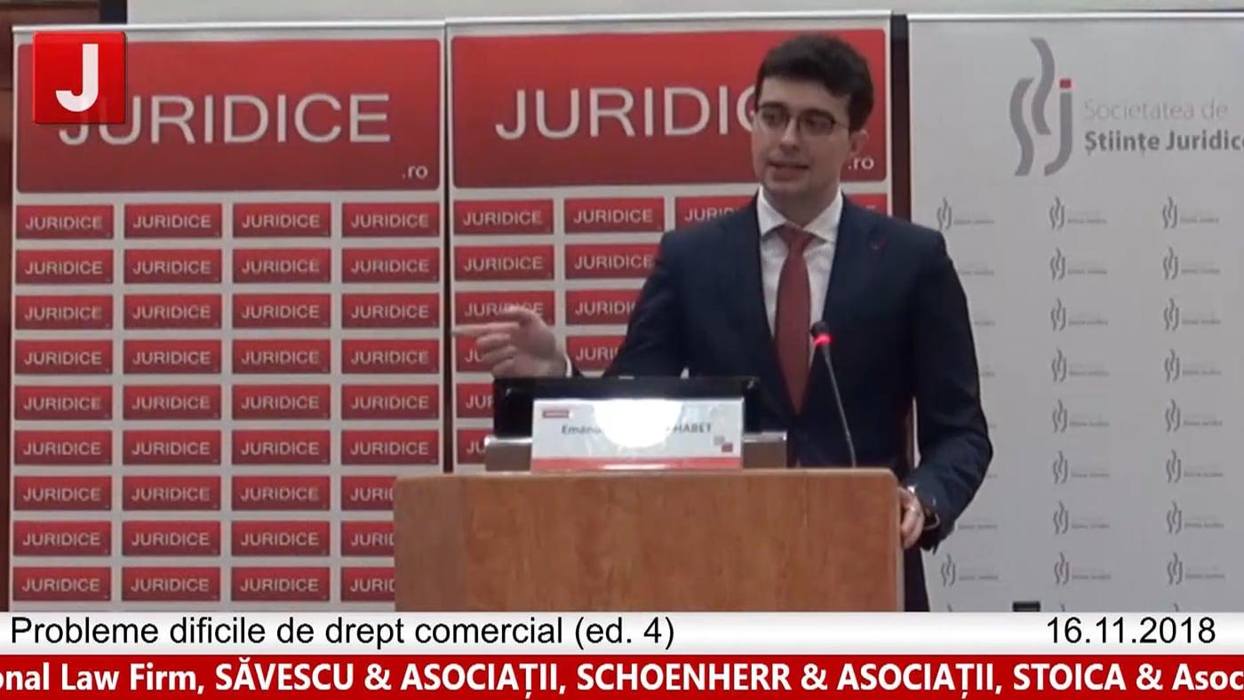 Emanuel Căliman Habet   Probleme dificile de drept comercial (ed. 4)