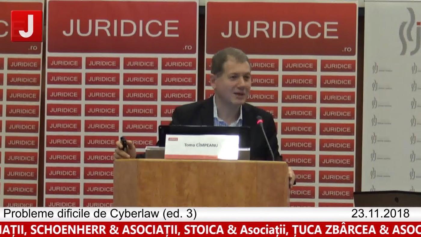 Toma Câmpeanu | Probleme dificile de Cyberlaw (ed. 3). Protecția tehnică și protecția juridică a sistemelor informatice