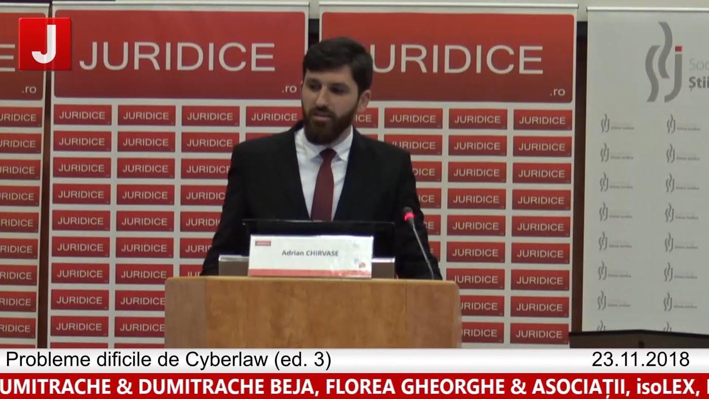 Adrian Chirvase | Probleme dificile de Cyberlaw (ed. 3). Protecția tehnică și protecția juridică a sistemelor informatice
