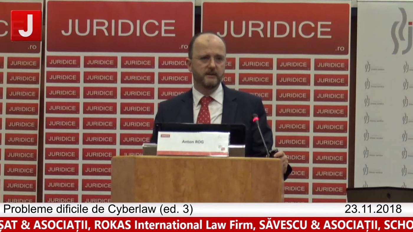 Anton Rog | Probleme dificile de Cyberlaw (ed. 3). Protecția tehnică și protecția juridică a sistemelor informatice