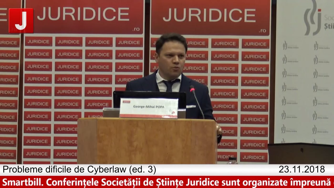Mihai Popa | Probleme dificile de Cyberlaw (ed. 3). Protecția tehnică și protecția juridică a sistemelor informatice