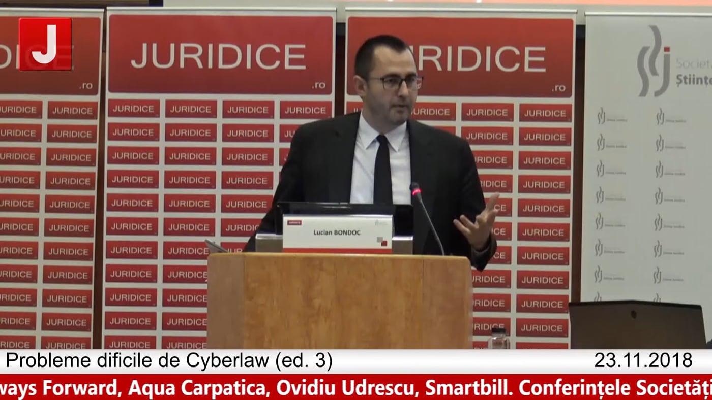 Lucian Bondoc   Probleme dificile de Cyberlaw (ed. 3). Protecția tehnică și protecția juridică a sistemelor informatice