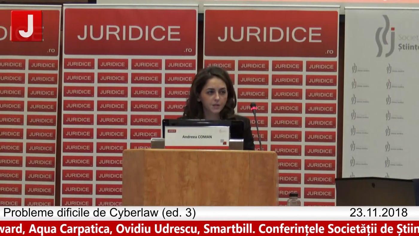 Andreea Coman | Probleme dificile de Cyberlaw (ed. 3). Protecția tehnică și protecția juridică a sistemelor informatice